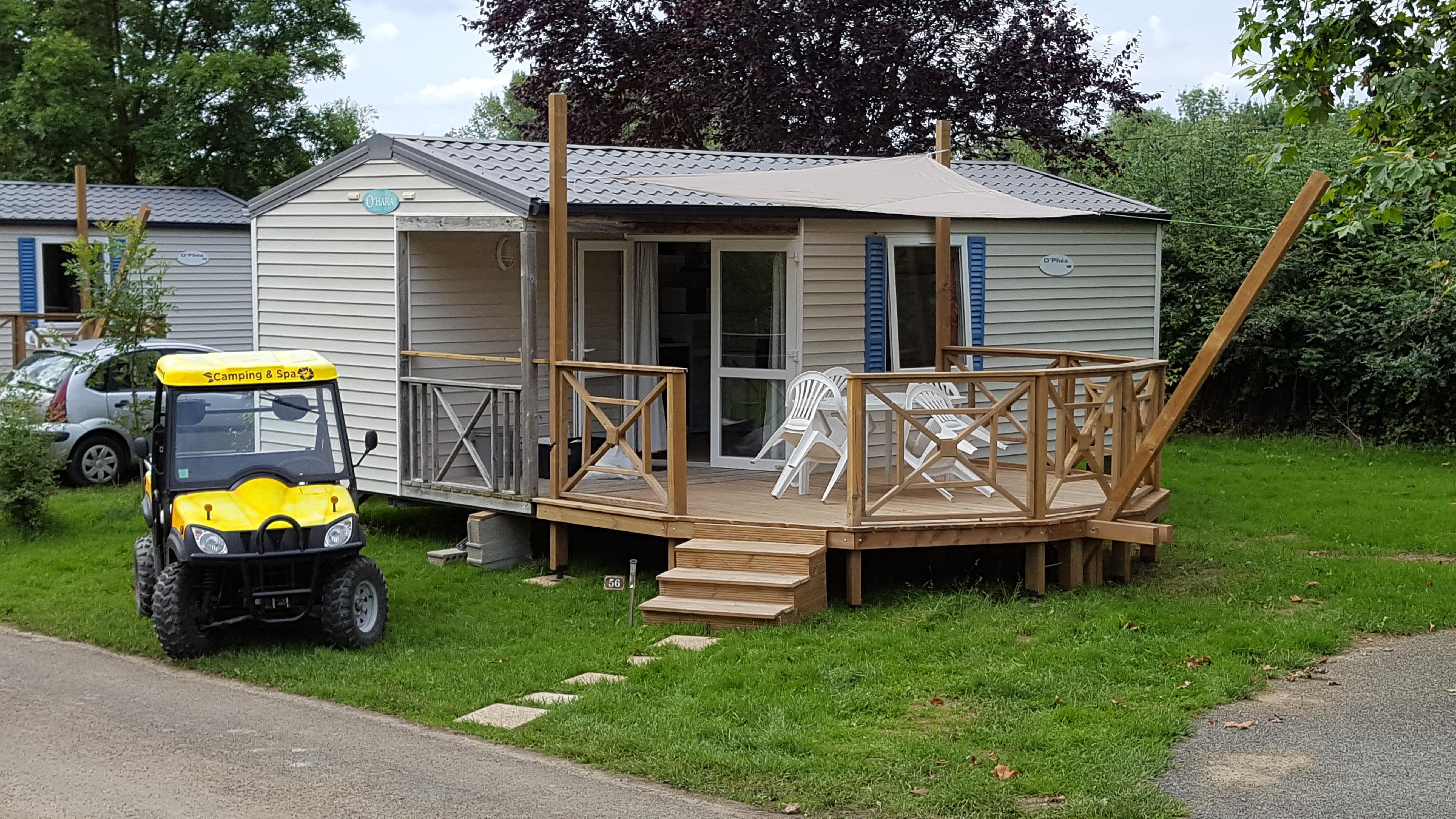 location camping les Plages de Loire- camping 3 étoiles