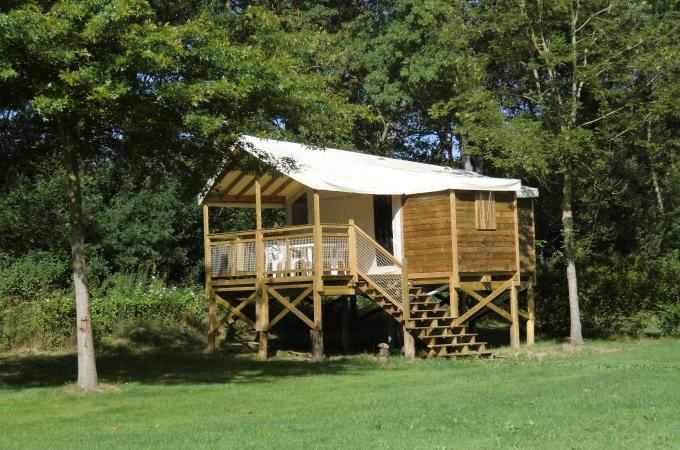 Ecolodge camping le port Mulon