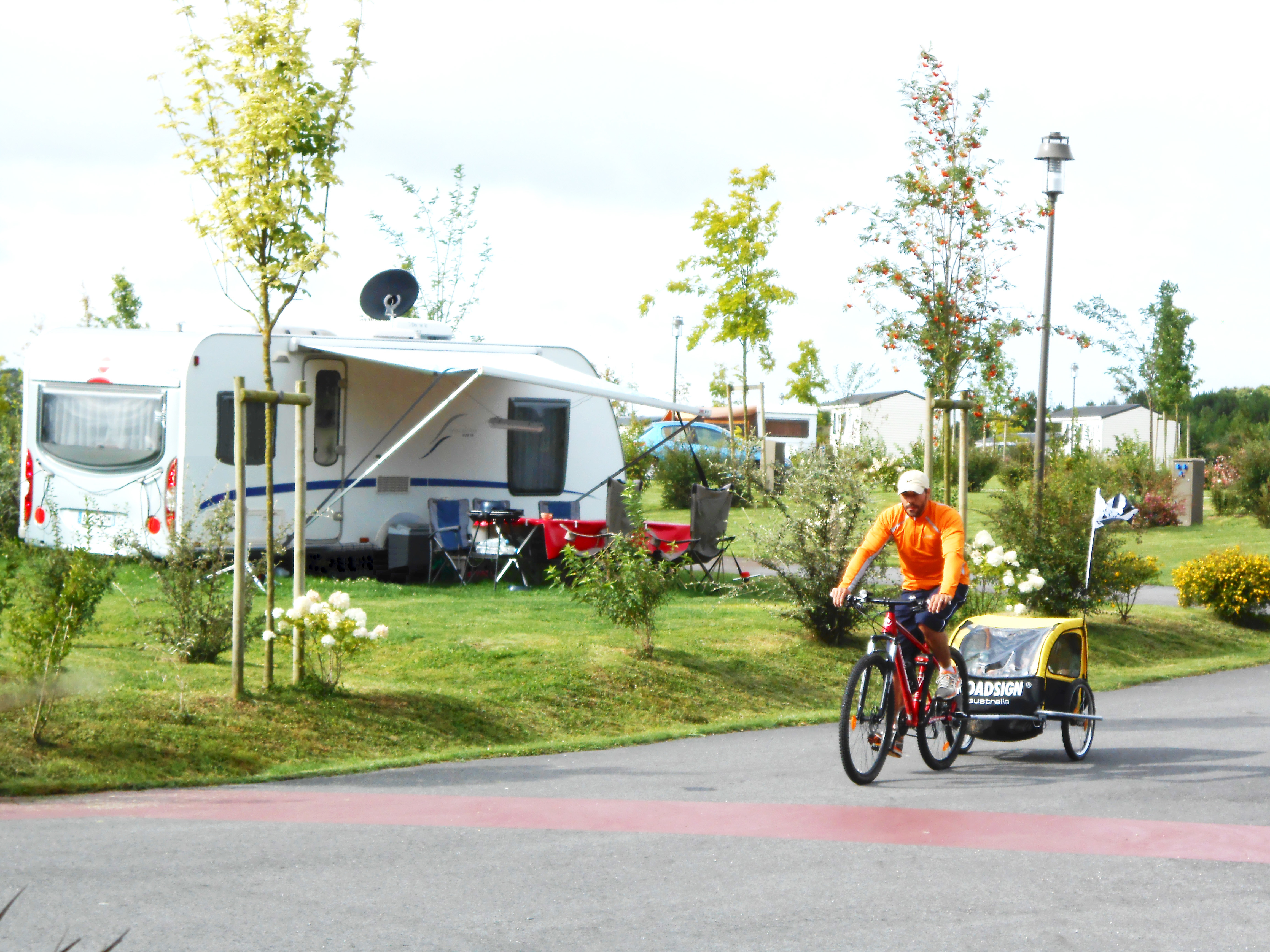 emplacement du camping Aquarev