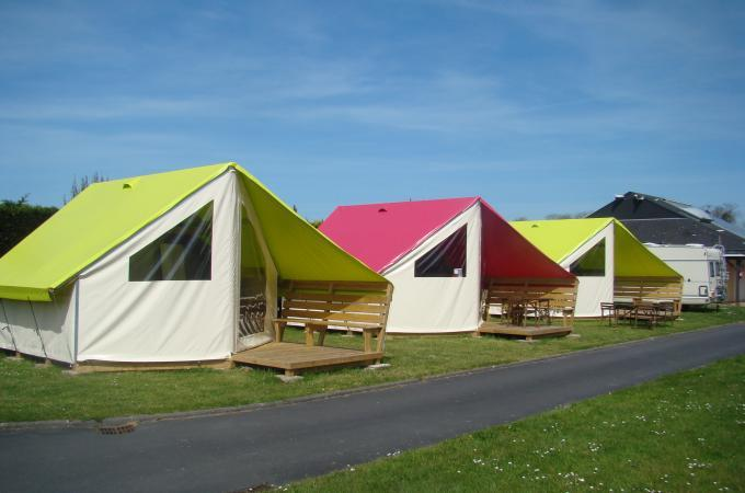 Ecolodge junior camping Ouistreham Riva Bella