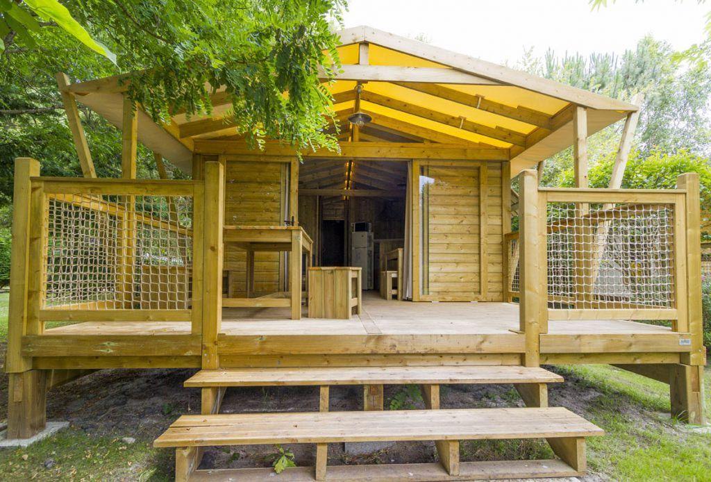 Ile de Ré camping les Portes en Ré Lodge