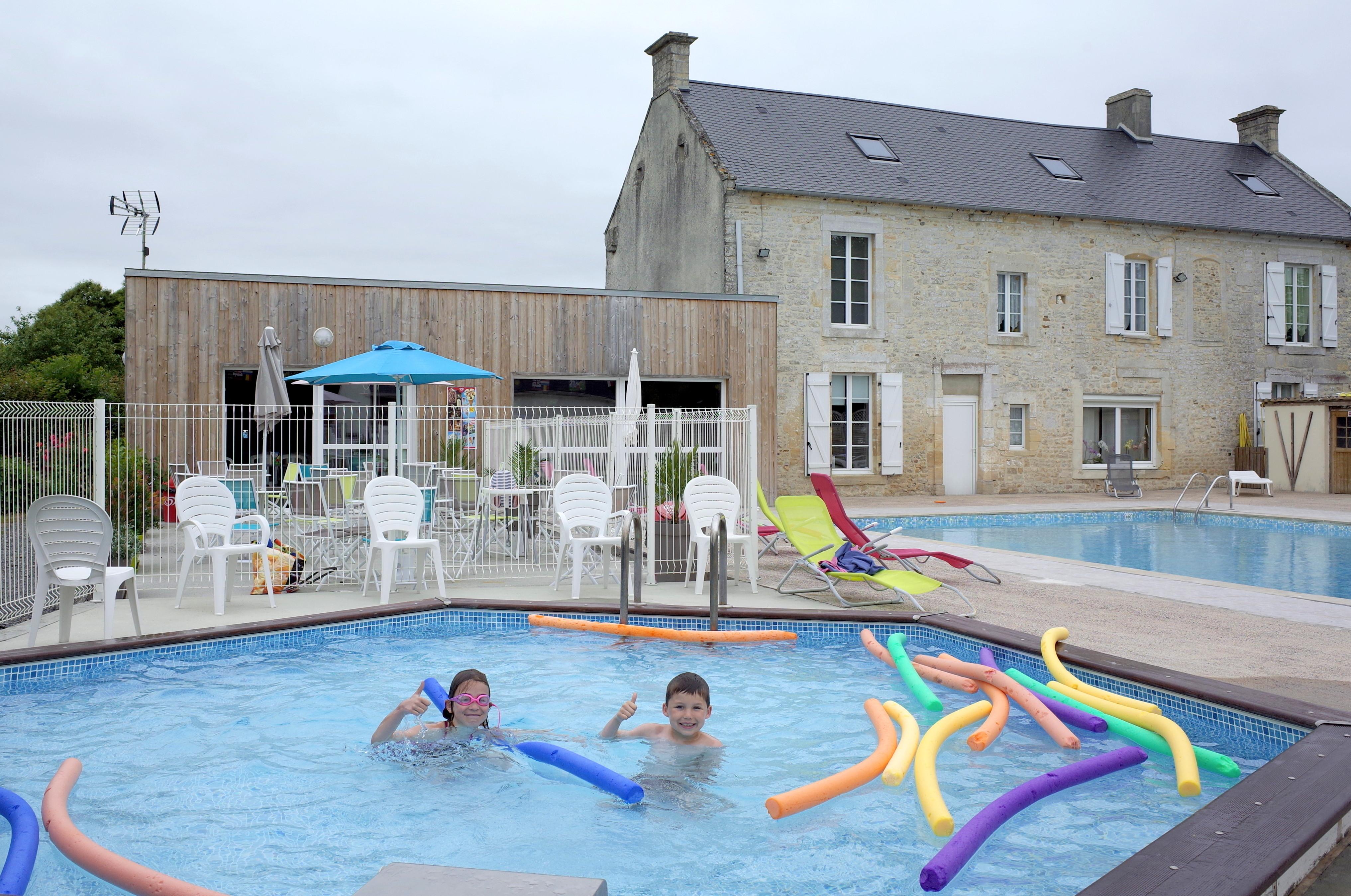 piscine du camping La Reine Mathilde