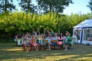 Camping Loire emplacement prairie pour les groupes