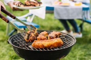 Barbecue à louer au camping