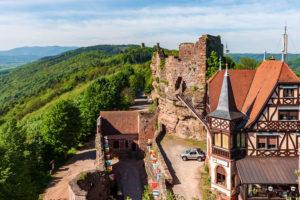 Vacances Alsace château Haut-Barr