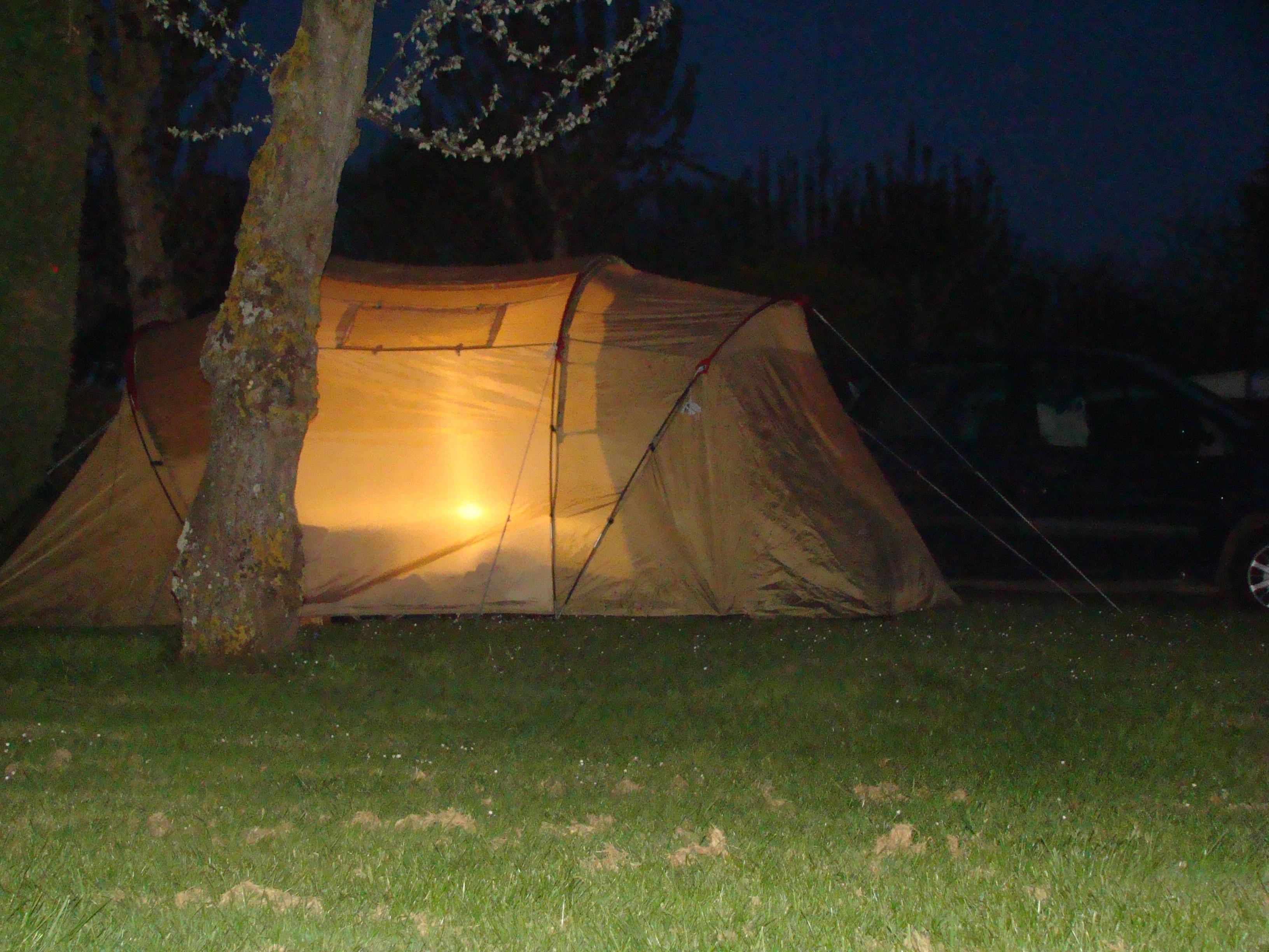Les emplacements Authentik au camping Riva Bella à Ouistreham