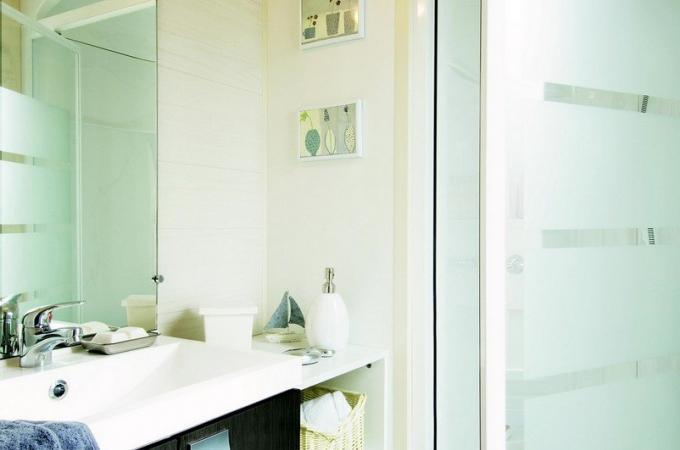Salle de bain cottage prestige