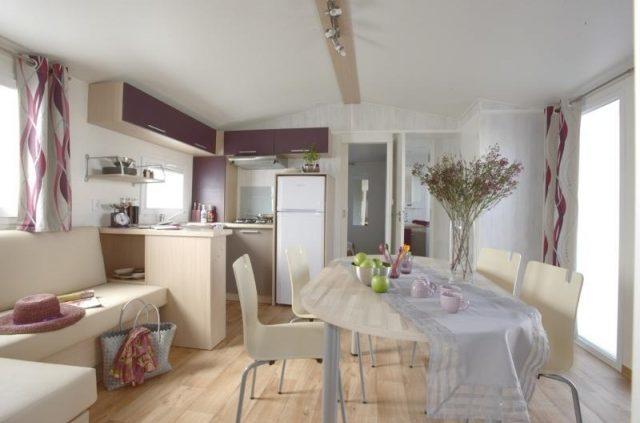Salon-cuisine cottage prestige