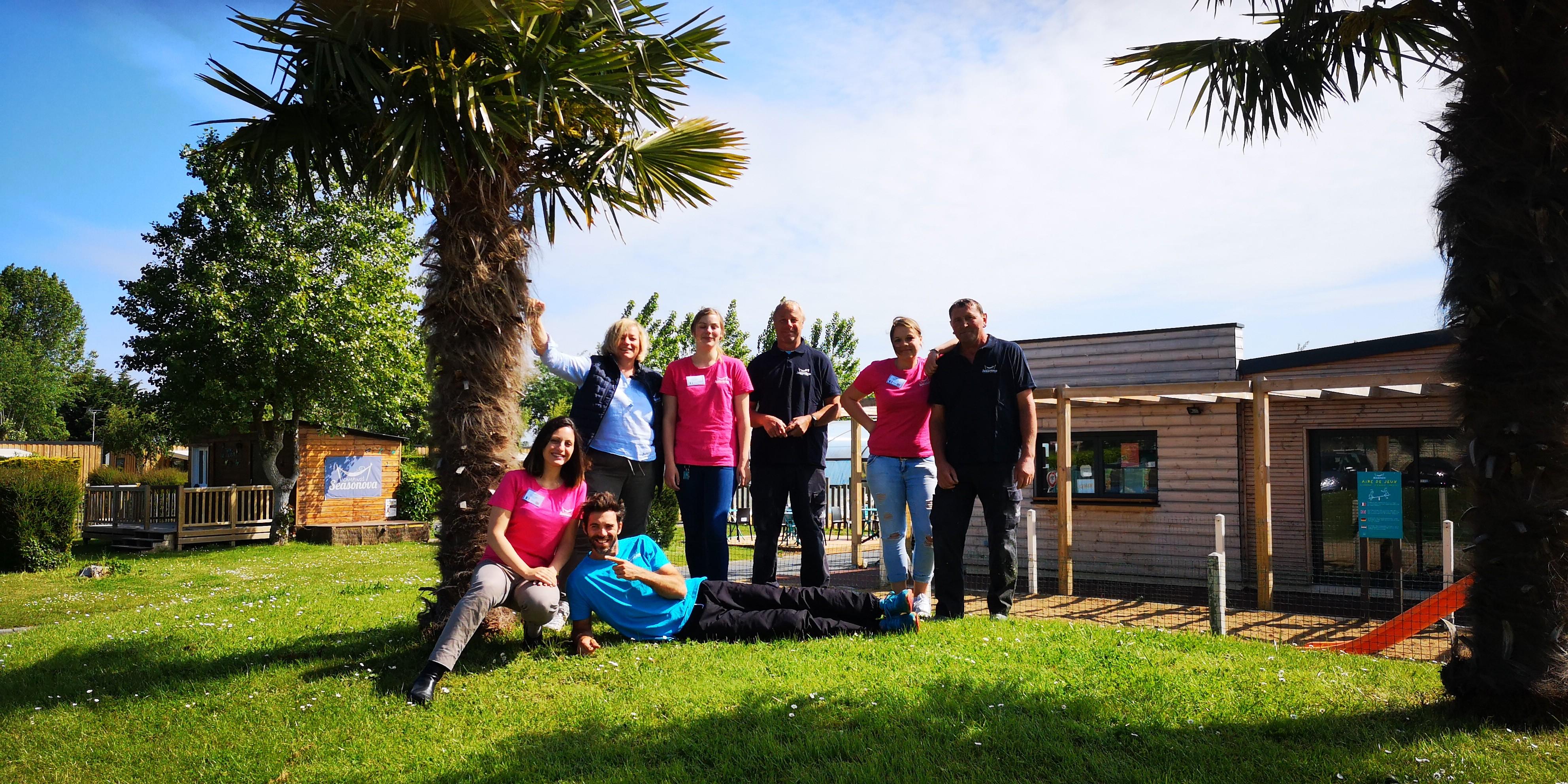 L'équipe du camping Riva Bella Ouistreham