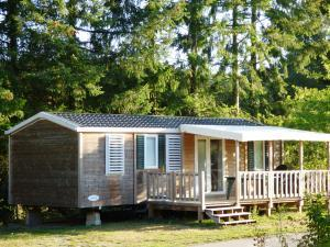 Camping sille plage mobilhome 3 chambres