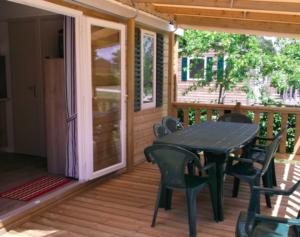 terrasse du cottage 6 personnes