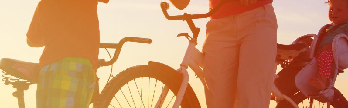 Vacances à vélo en famille