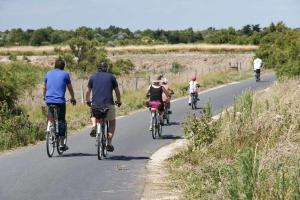 Balade à vélo sur l'île de ré